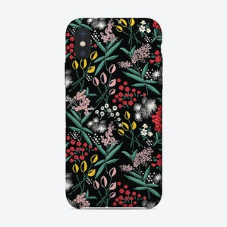 Folk Floral iPhone Case