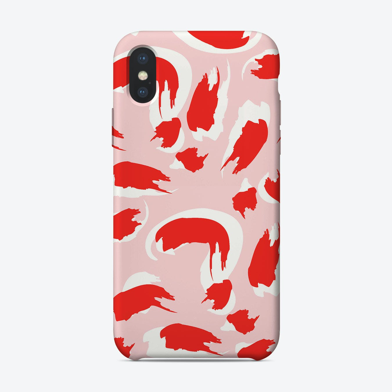 Abstract Splutter iPhone Case