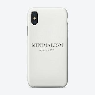 Minimalism Phone Case