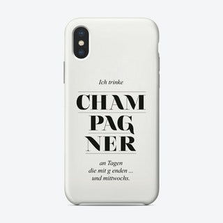 Champagne Phone Case