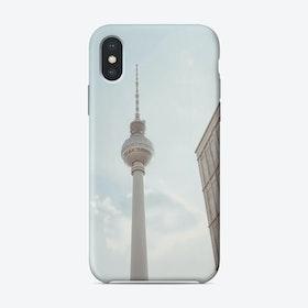 Berlin Fernsehturm iPhone Case