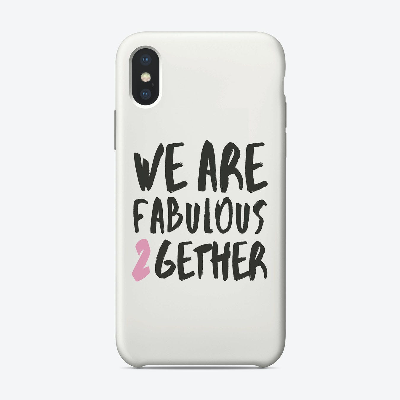 Fabulous Together iPhone Case