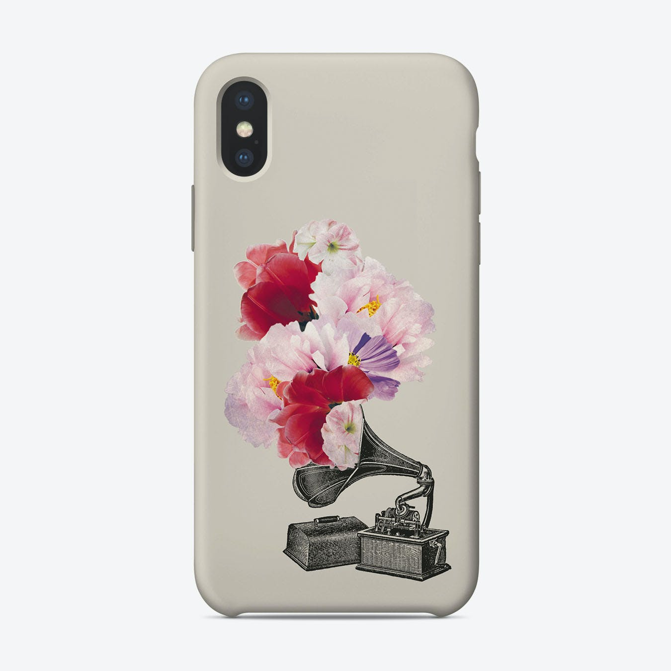 Flower Gramophone iPhone Case