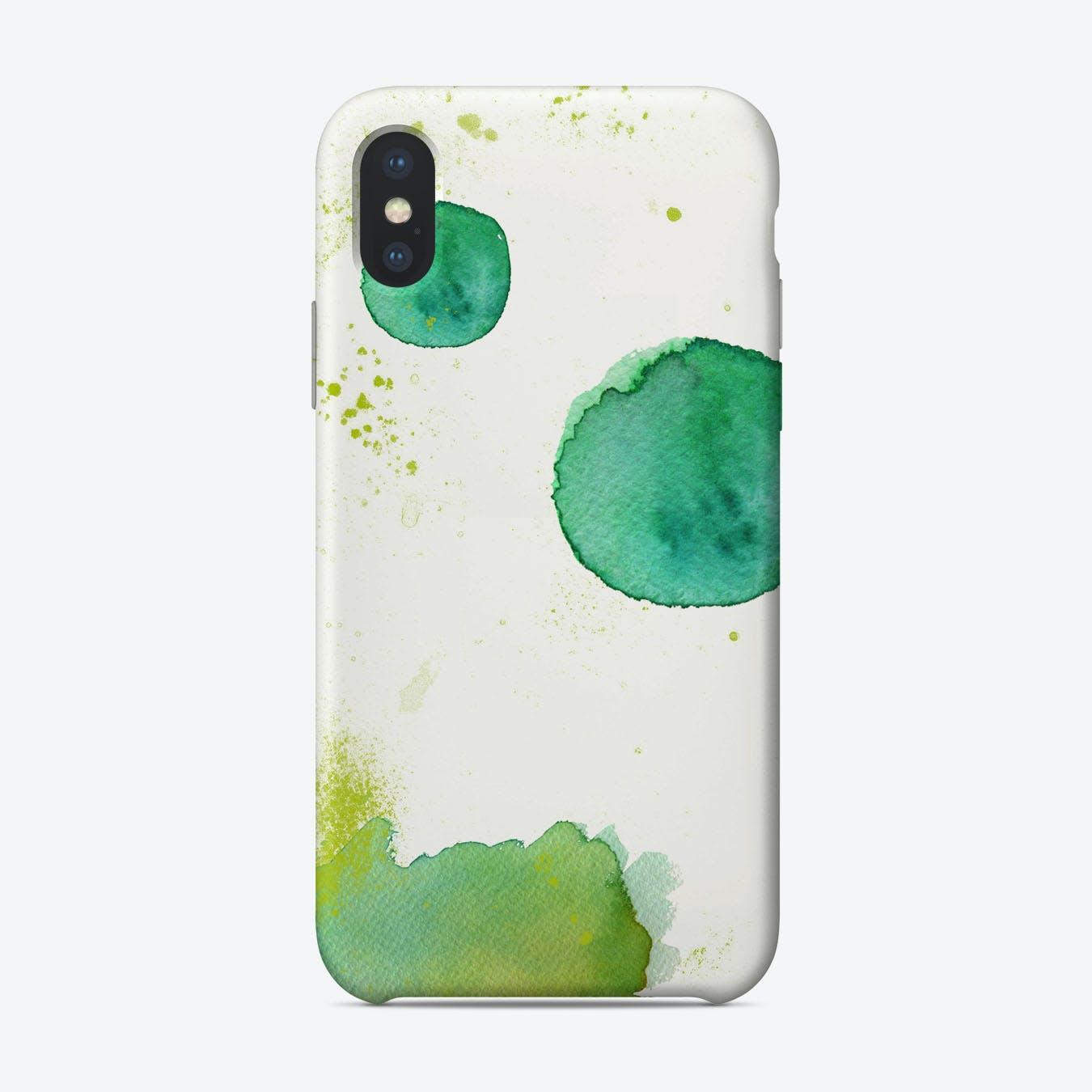 Kleckse iPhone Case