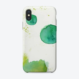 Kleckse iPhone Case