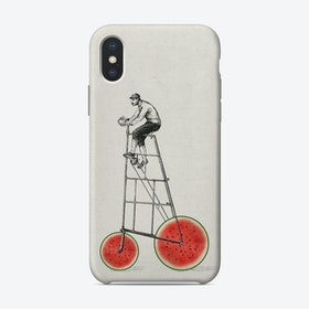 Melon Bike iPhone Case