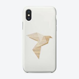 Origami Dove iPhone Case