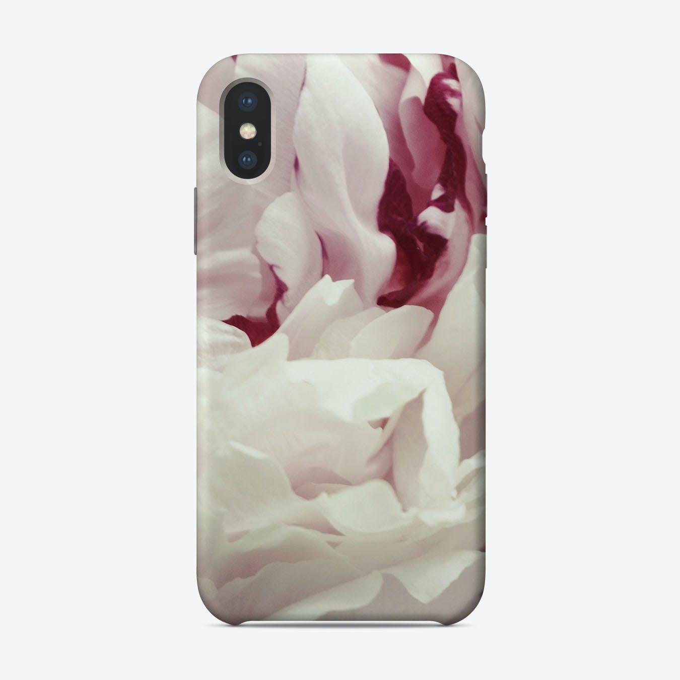 Peony Detail iPhone Case