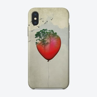 Red Balloon iPhone Case