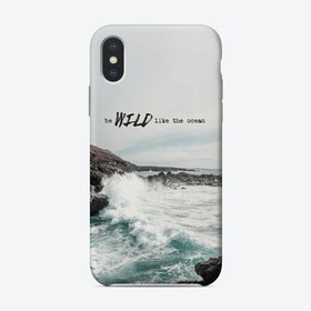 Wild Like The Ocean iPhone Case