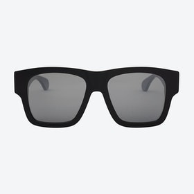 Jeroen Sunglasses in Black/Tri