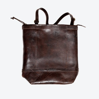 Husky Backpacks in Brown/Saddle