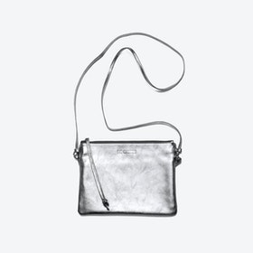 Pinscher Crossbody Bag in Silver/Metallic