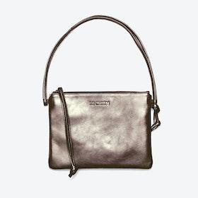 Pinscher Crossbody Bag in Copper/Metallic