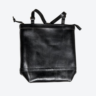 Husky Backpacks in Black/Saddle