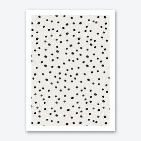 Preppy Spots Art Print