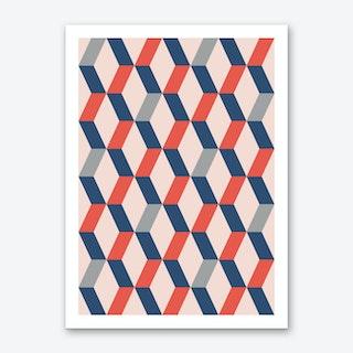 Abstract No 1 Art Print