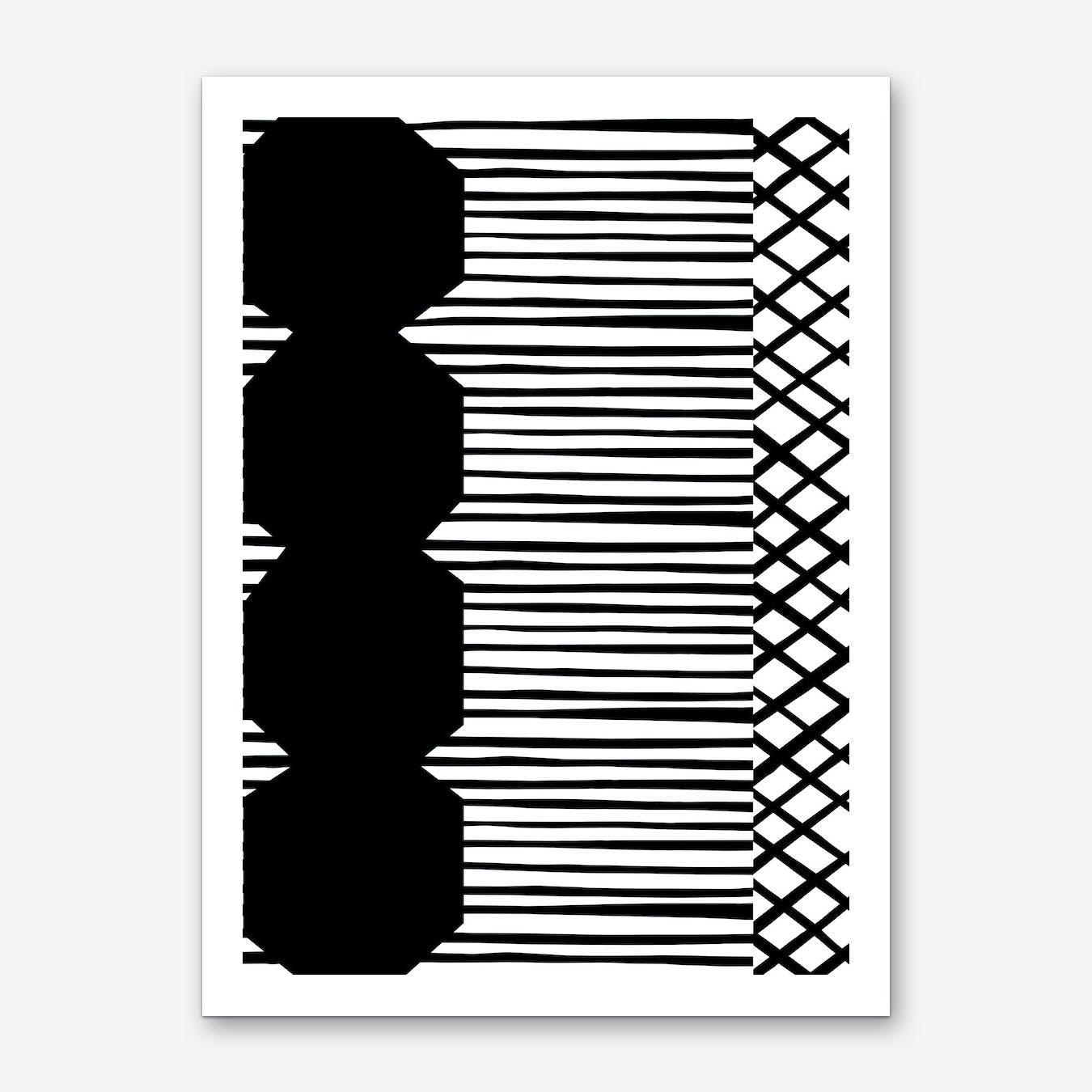 Abstract No 2 Art Print