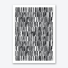 B&W Stripes Art Print