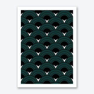 Deco Pattern Art Print
