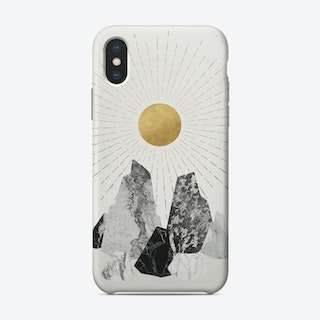 Rock Formation 2 iPhone Case