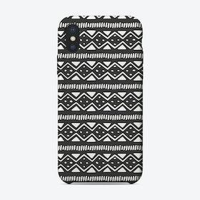 Scandi Pattern No 2 iPhone Case