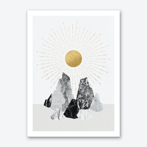 Rock Formation No 2 Art Print