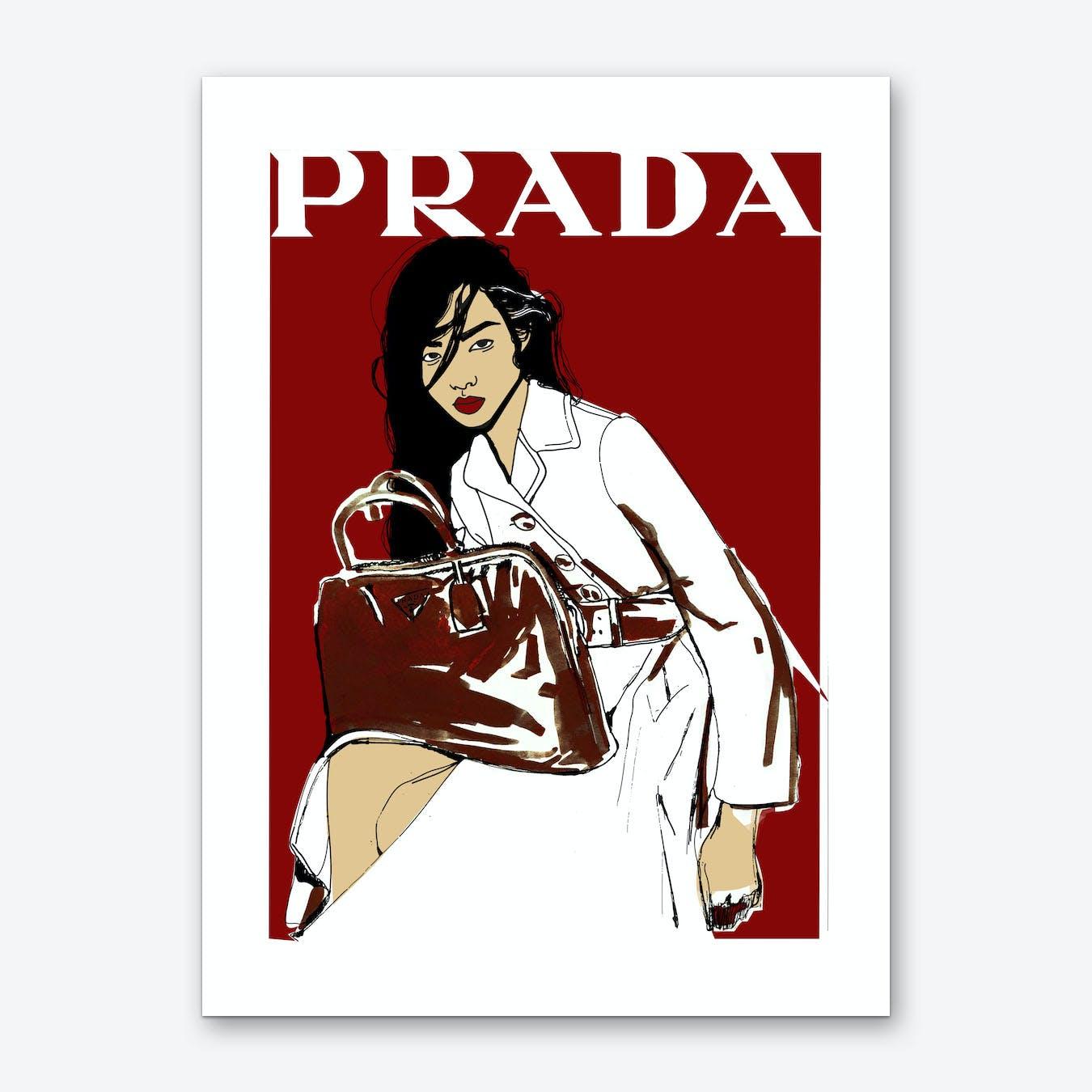 Prada Wall Art