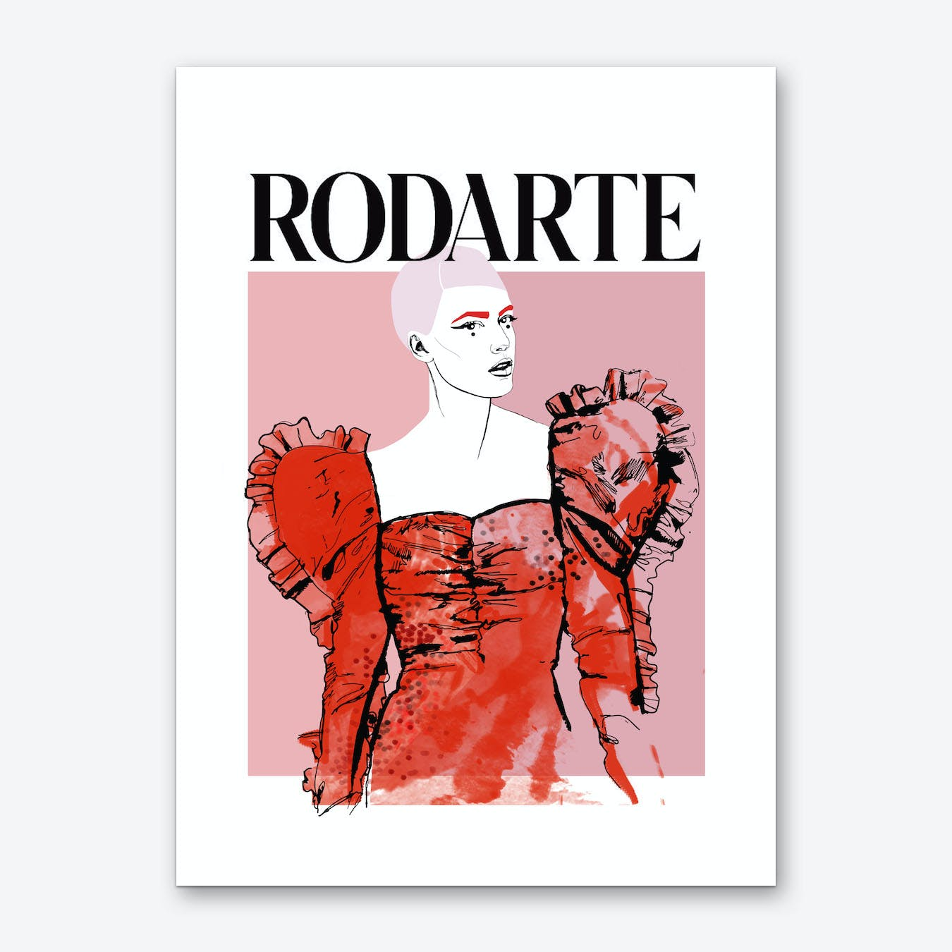Rodarte Wall Art