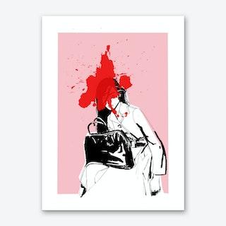 Super Asia Art Print