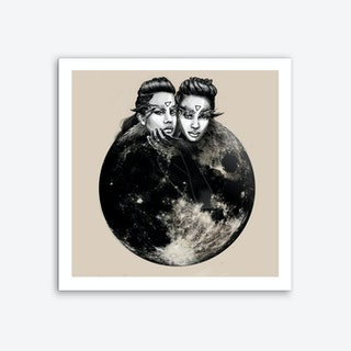 Moon Elves Art Print