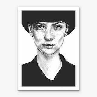 Nico R Art Print