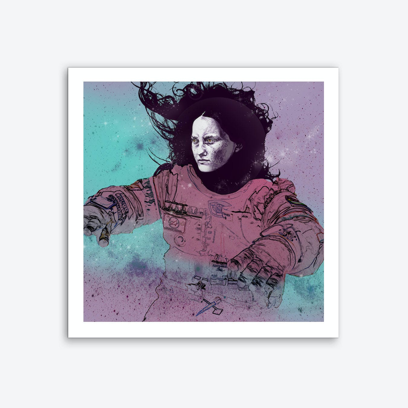 Astronaut 3 Wall Art