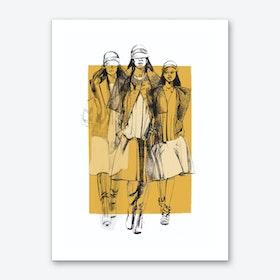 Balenciaga Art Print