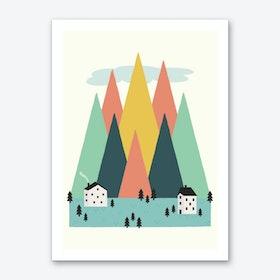 The High Mountains Art Print