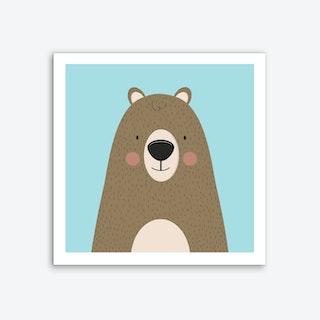 Bears Are Friendly Art Print