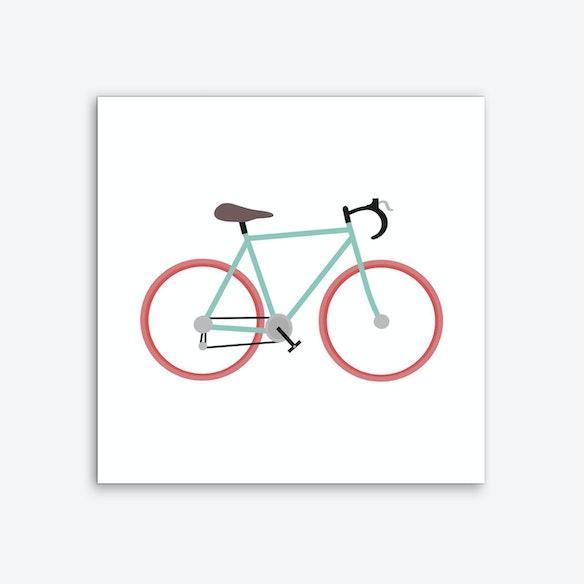 I Love Cycling Art Print Free Shipping Fy