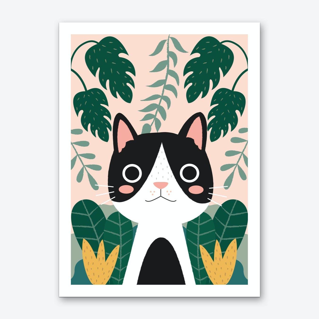 Jungle Cat 2 Art Print