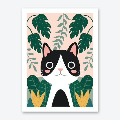 Jungle Cat 2 Art Print