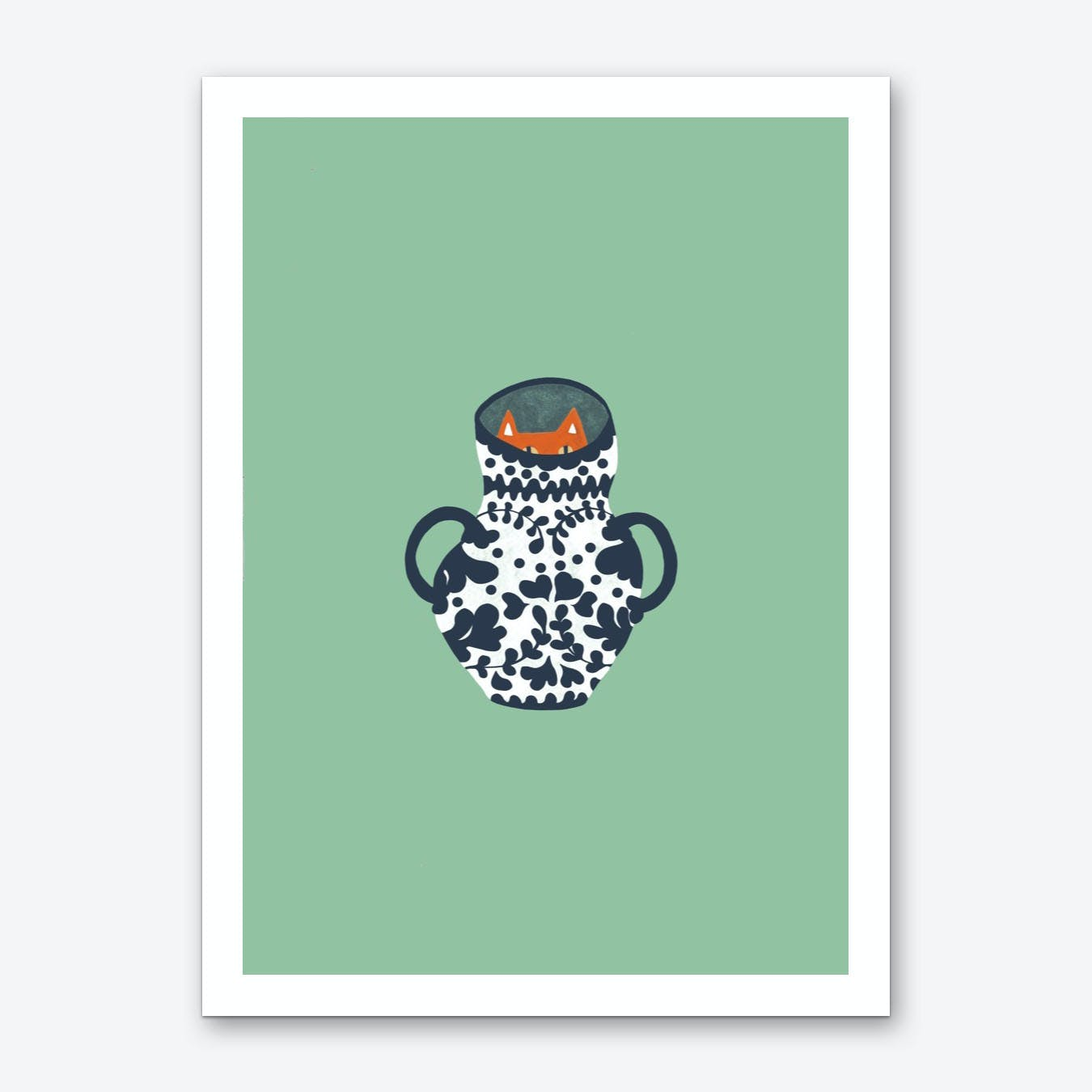 Mr. Mysterious Art Print