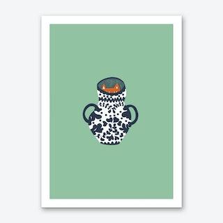 Mr. Mysterious Art Print