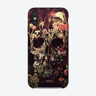 Bloom Skull Phone Case
