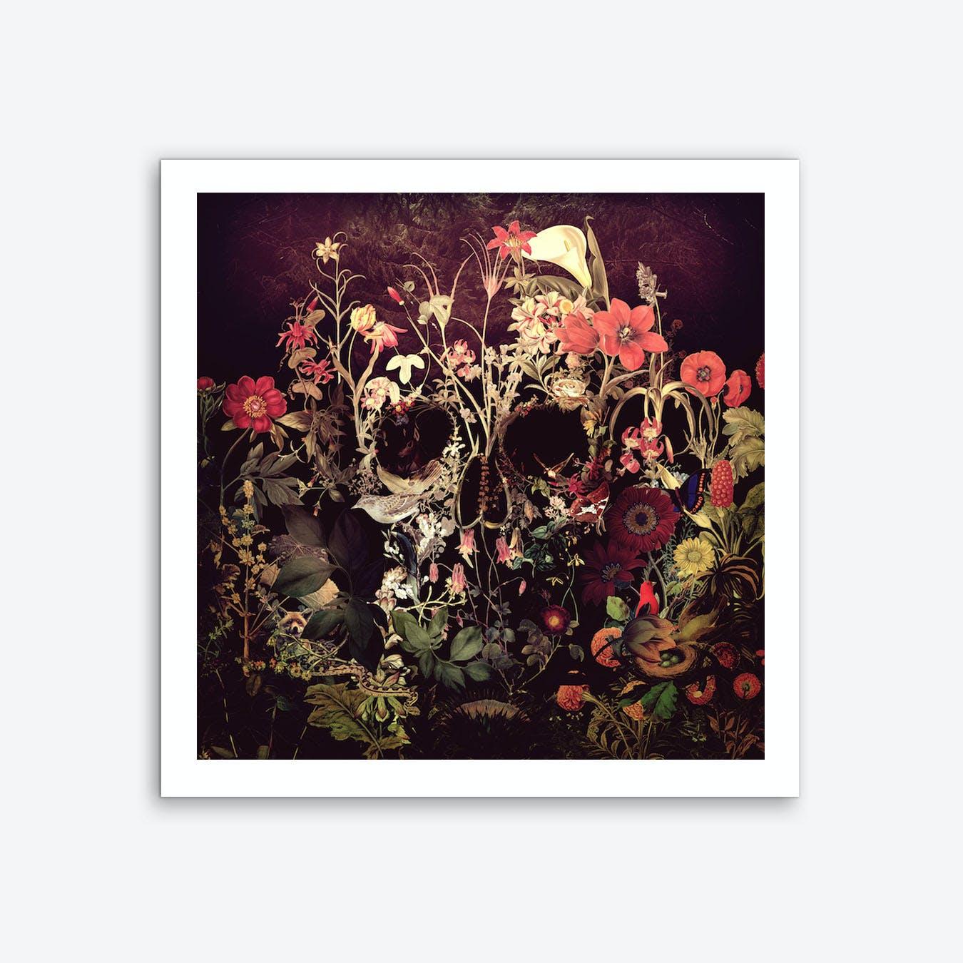 Bloom Skull Art Print