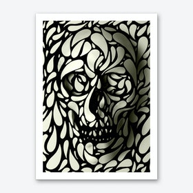 Skull 4 Art Print