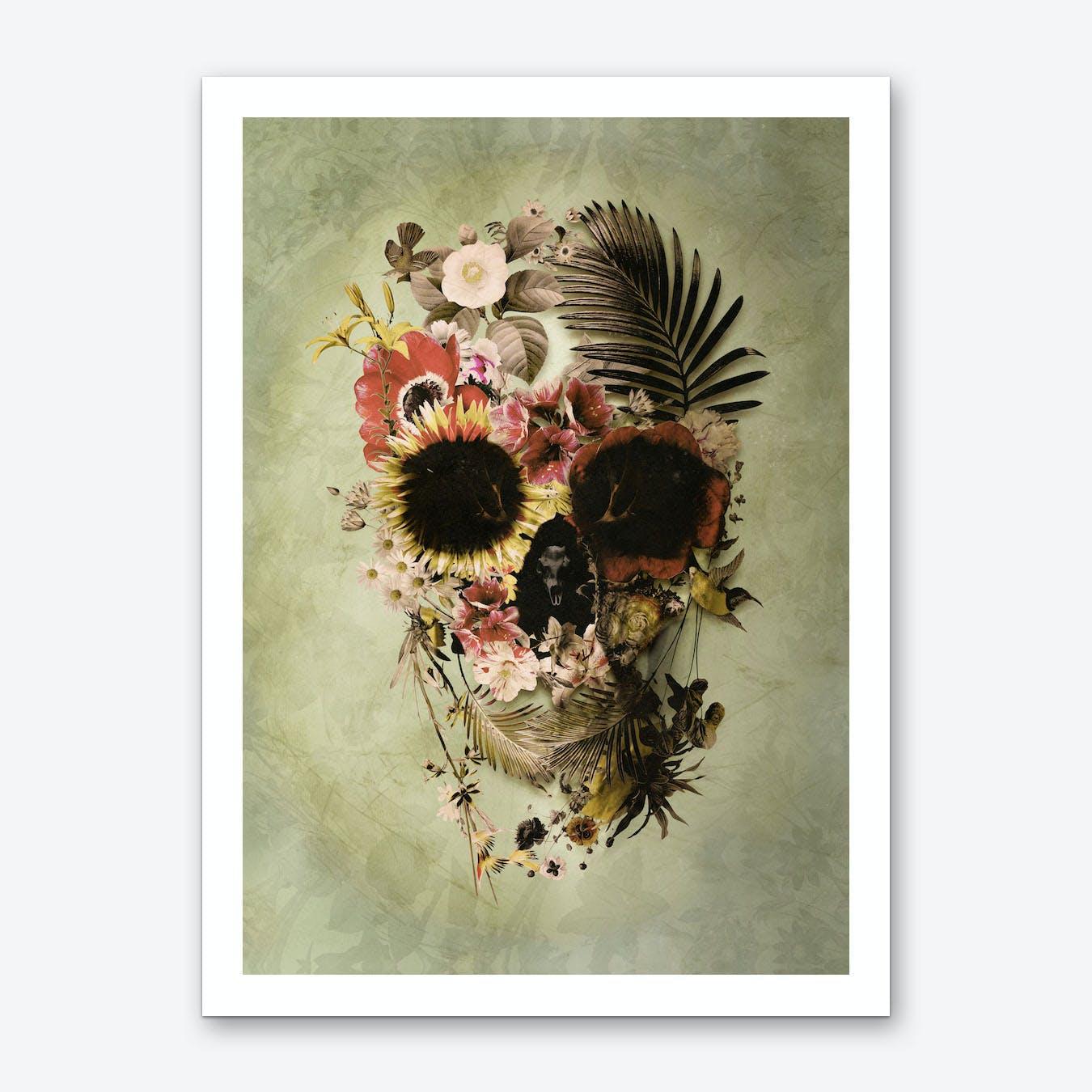 Garden Skull Art Print