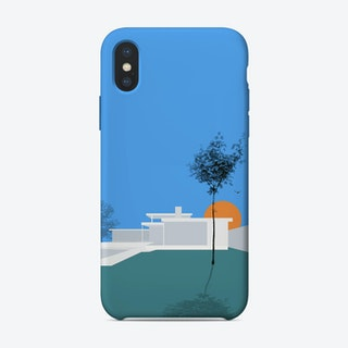 Minimal House 1 iPhone Case