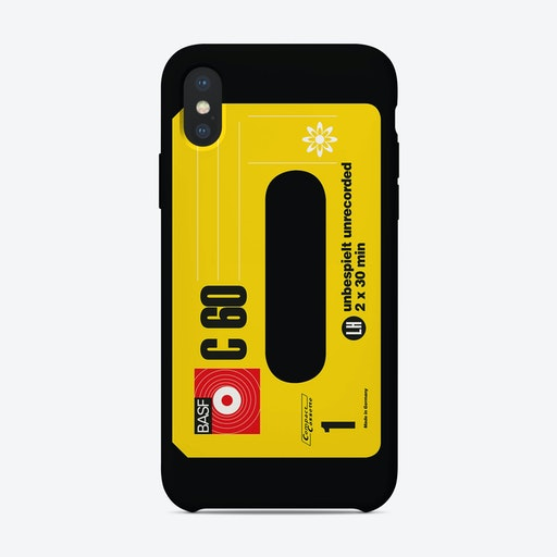 Classic BASF C60 iPhone Case
