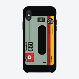 BASF C60 Chromdioxid iPhone Case