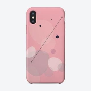 Soft Geometric Shapes iPhone Case