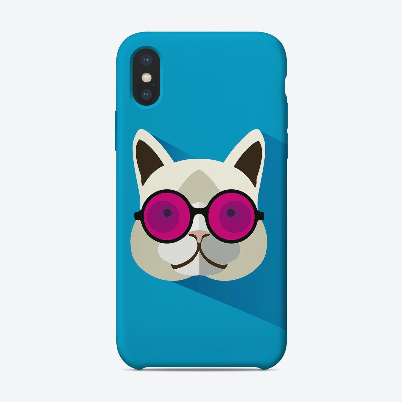 Oscar Cool Kat iPhone Case